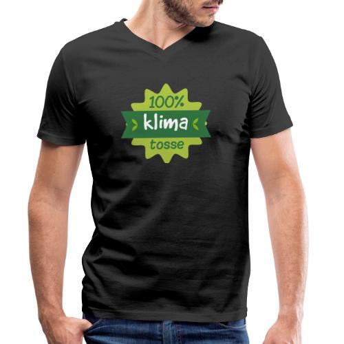 100% Klimatosse - Økologisk Stanley & Stella T-shirt med V-udskæring til herrer