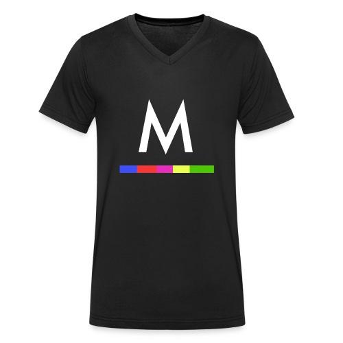 Metro - Camiseta ecológica hombre con cuello de pico de Stanley & Stella