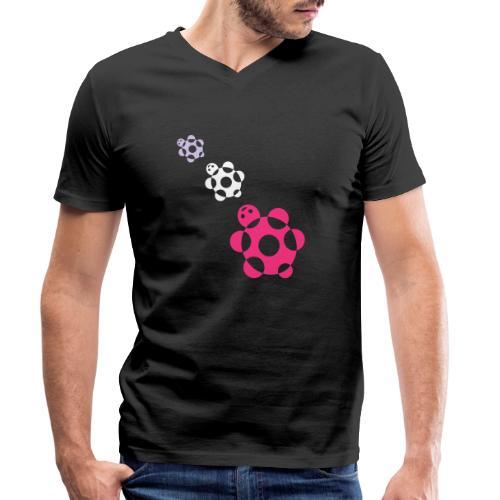 tartarughe - T-shirt ecologica da uomo con scollo a V di Stanley & Stella