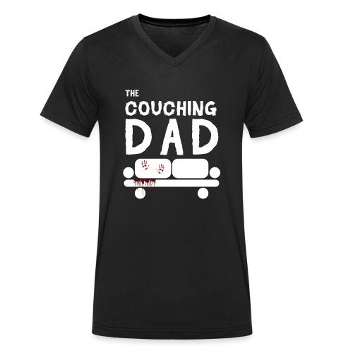 The Couching Dad - Männer Bio-T-Shirt mit V-Ausschnitt von Stanley & Stella