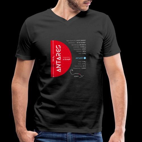 Antares - Männer Bio-T-Shirt mit V-Ausschnitt von Stanley & Stella