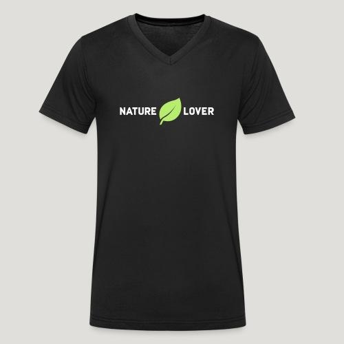 Nature Lover - Männer Bio-T-Shirt mit V-Ausschnitt von Stanley & Stella