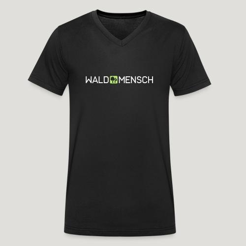 Waldmensch - Männer Bio-T-Shirt mit V-Ausschnitt von Stanley & Stella