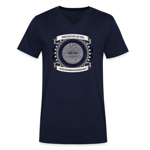 logo 2 png - Männer Bio-T-Shirt mit V-Ausschnitt von Stanley & Stella