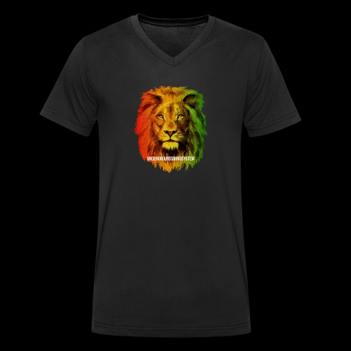 THE LION OF JUDAH - Männer Bio-T-Shirt mit V-Ausschnitt von Stanley & Stella