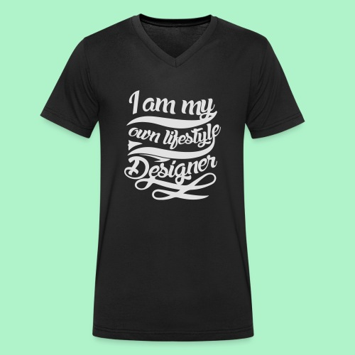 travellifestyle - Männer Bio-T-Shirt mit V-Ausschnitt von Stanley & Stella