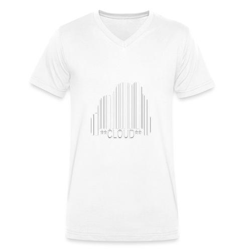 Cloud - Men's Organic V-Neck T-Shirt by Stanley & Stella