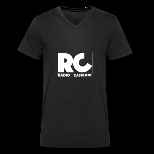 Radio CASTriert 2017/2018 - Männer Bio-T-Shirt mit V-Ausschnitt von Stanley & Stella