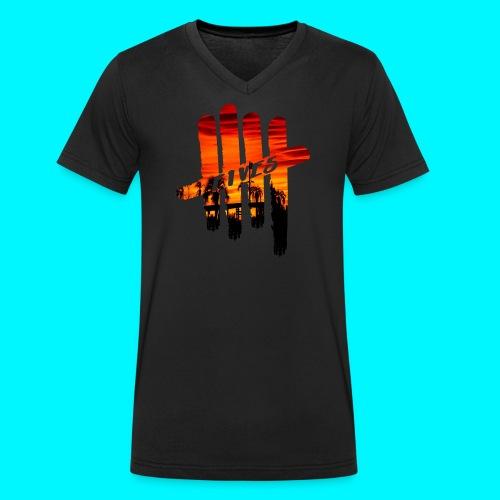 fives vibes - T-shirt bio col V Stanley & Stella Homme