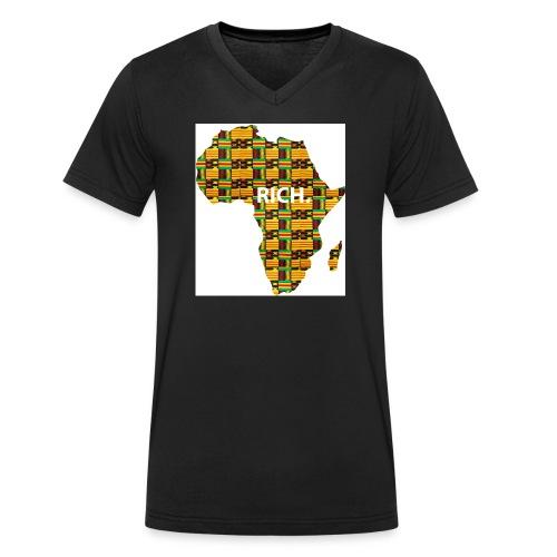 africa1 - Männer Bio-T-Shirt mit V-Ausschnitt von Stanley & Stella