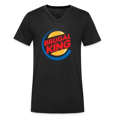 Brugal King - Camiseta ecológica hombre con cuello de pico de Stanley & Stella