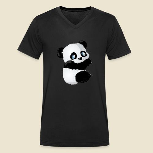 Bébé Panda - T-shirt bio col V Stanley & Stella Homme