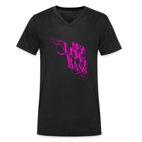 welovebass10 - Männer Bio-T-Shirt mit V-Ausschnitt von Stanley & Stella