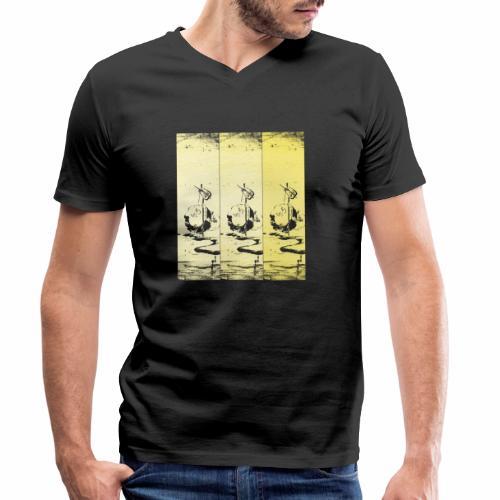 hotei - utagawa kuniyoshi - Männer Bio-T-Shirt mit V-Ausschnitt von Stanley & Stella