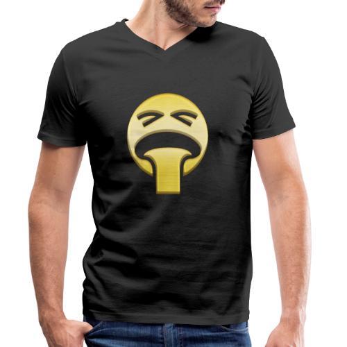 vomiting - Ekologisk T-shirt med V-ringning herr från Stanley & Stella