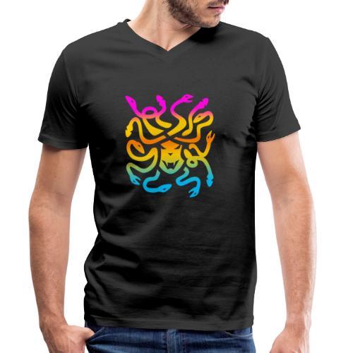Medusa head - Ekologisk T-shirt med V-ringning herr från Stanley & Stella