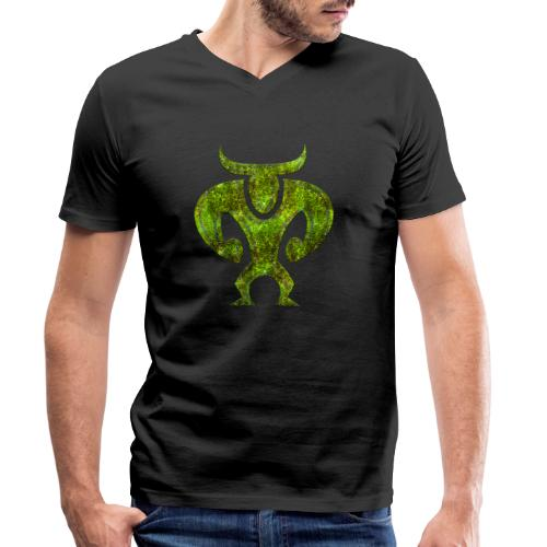 Minotaur - Ekologisk T-shirt med V-ringning herr från Stanley & Stella