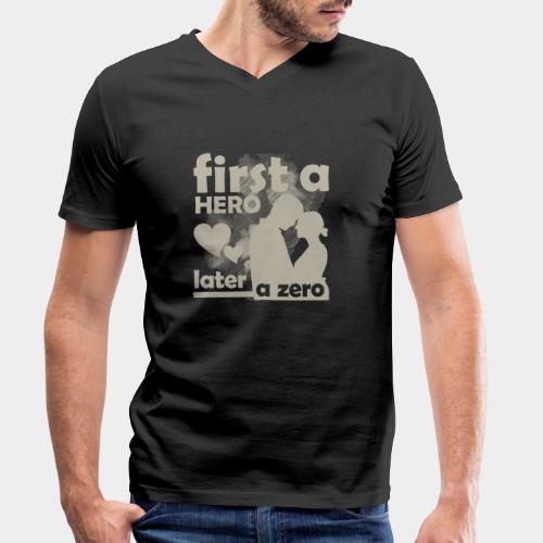 GHB from Hero to Zero 19032018 10 FA - Männer Bio-T-Shirt mit V-Ausschnitt von Stanley & Stella