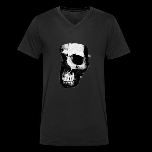 teschio darktrasp - T-shirt ecologica da uomo con scollo a V di Stanley & Stella