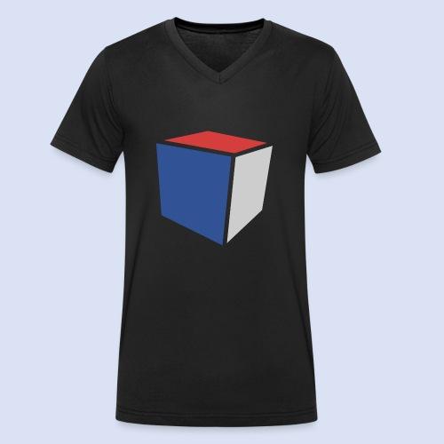 Cube Minimaliste - T-shirt bio col V Stanley & Stella Homme