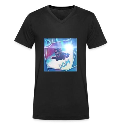 DOM - Men's Organic V-Neck T-Shirt by Stanley & Stella