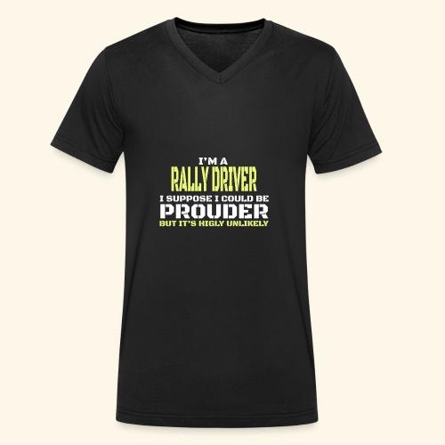 RALLY - T-shirt ecologica da uomo con scollo a V di Stanley & Stella
