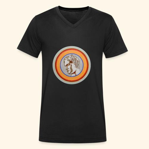 Ara Ludovisi - T-shirt ecologica da uomo con scollo a V di Stanley & Stella