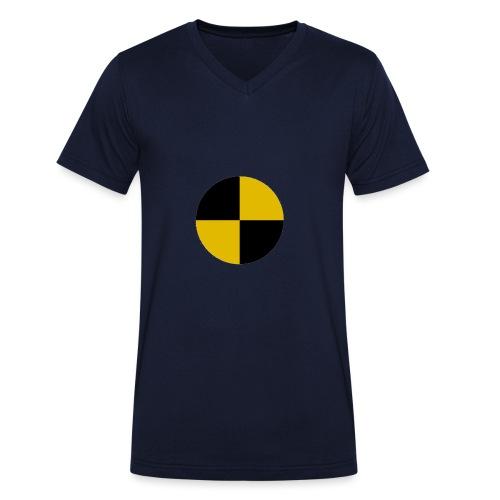 crash test - Men's Organic V-Neck T-Shirt by Stanley & Stella
