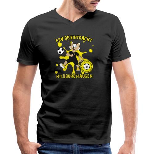 Hildburghausen ESKater - Männer Bio-T-Shirt mit V-Ausschnitt von Stanley & Stella