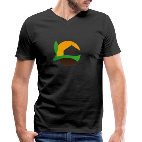 Neues Logo ohne Schriftzug - Männer Bio-T-Shirt mit V-Ausschnitt von Stanley & Stella