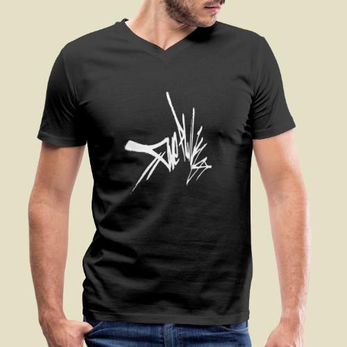 tag - Männer Bio-T-Shirt mit V-Ausschnitt von Stanley & Stella