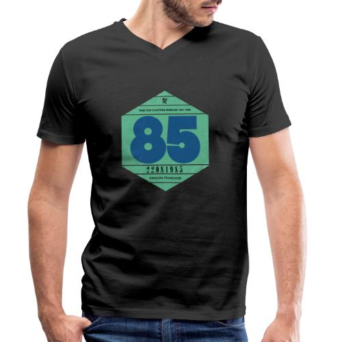 Vignette automobile 1985 - T-shirt bio col V Stanley & Stella Homme