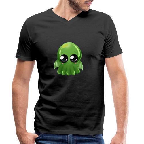 Super süßer Cthulhu - Männer Bio-T-Shirt mit V-Ausschnitt von Stanley & Stella
