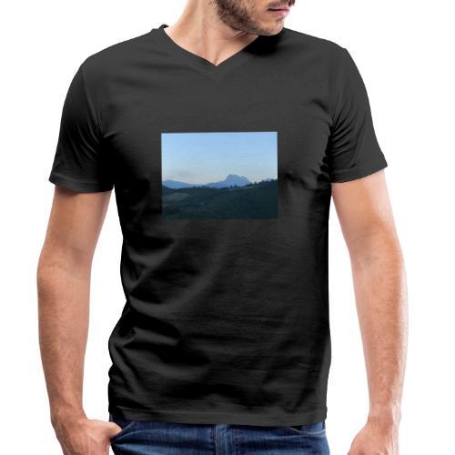 Gran Sasso - T-shirt ecologica da uomo con scollo a V di Stanley & Stella
