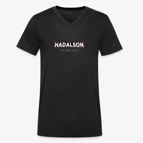 The True Fan Of Hadalson - Men's Organic V-Neck T-Shirt by Stanley & Stella