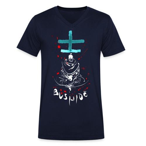 Bushido - Der Weg des Kriegers - Men's Organic V-Neck T-Shirt by Stanley & Stella