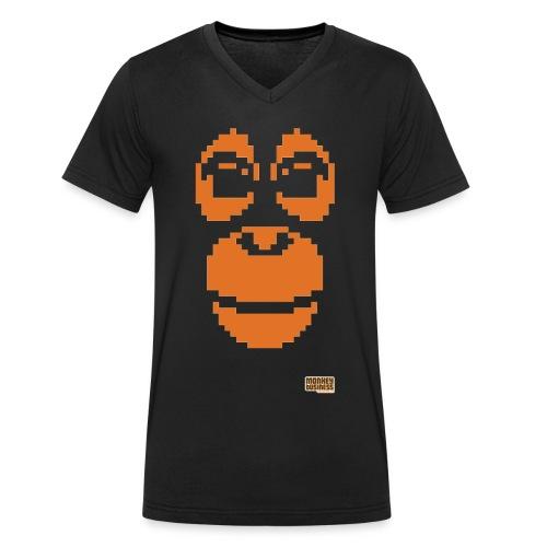 C O P - Mannen bio T-shirt met V-hals van Stanley & Stella