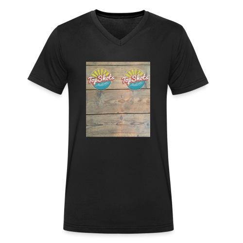 TenSlippers - Mannen bio T-shirt met V-hals van Stanley & Stella