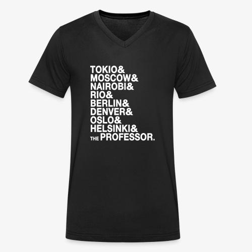 Casa di Carta - Donna Canottiera - T-shirt ecologica da uomo con scollo a V di Stanley & Stella