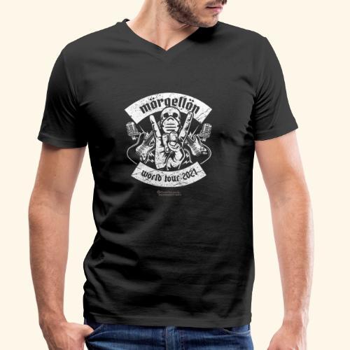 Morgellon Heavy Metal Band T-Shirt World Tour 2021 - Männer Bio-T-Shirt mit V-Ausschnitt von Stanley & Stella