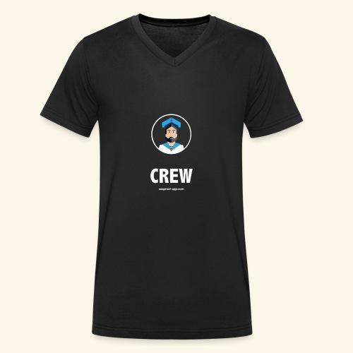 SeaProof Crew - Männer Bio-T-Shirt mit V-Ausschnitt von Stanley & Stella