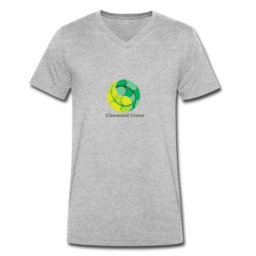 Cinewood Green - Men's Organic V-Neck T-Shirt by Stanley & Stella