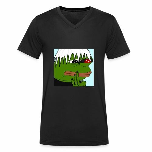 Tokyo Pepe - Männer Bio-T-Shirt mit V-Ausschnitt von Stanley & Stella