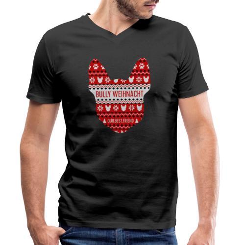 Bully Weihnacht Part 3 - Männer Bio-T-Shirt mit V-Ausschnitt von Stanley & Stella