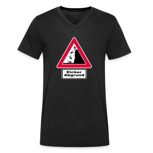 Abgrund Logo Final png - Männer Bio-T-Shirt mit V-Ausschnitt von Stanley & Stella