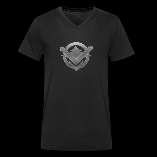 SVN Arts logo - Mannen bio T-shirt met V-hals van Stanley & Stella