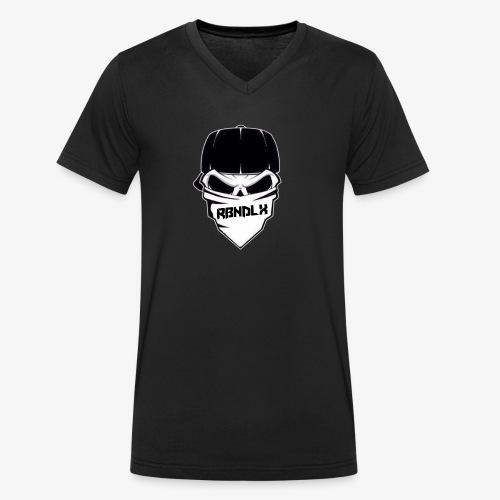RBNDLX SHIRT - LOGO - Männer Bio-T-Shirt mit V-Ausschnitt von Stanley & Stella