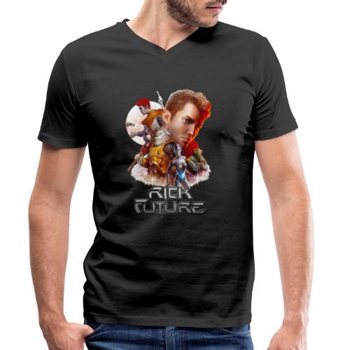RF Anniversary - Männer Bio-T-Shirt mit V-Ausschnitt von Stanley & Stella