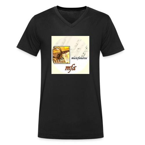 musicfunarea - Männer Bio-T-Shirt mit V-Ausschnitt von Stanley & Stella