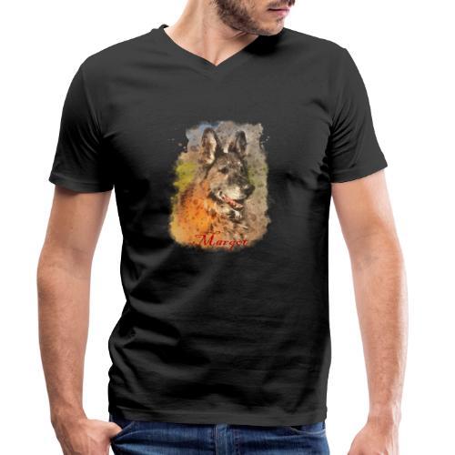 Margot - T-shirt ecologica da uomo con scollo a V di Stanley & Stella